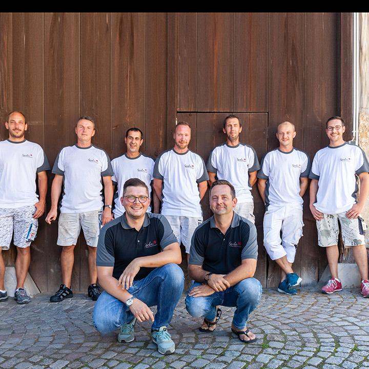 Gruppenbild der Maler Spohn GmbH